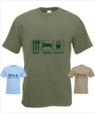Eat Sleep Train Spoter  Funny T-Shirt in any size