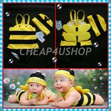 ※060※V. CUTE ★ BEE 2PCS With Tail & Wing SWIMSUITS  2-3Yrs