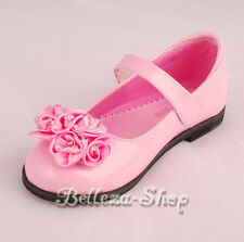 Wedding Flower Girl Pageant Dress Shoes Size 9-1
