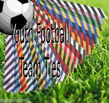 Boys Football Team Club Tie Child and Youth 10-16 Years