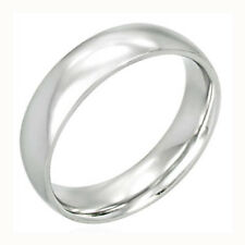 """Wedding Band """"Stainless Steel"""" Great for Work or Play"""