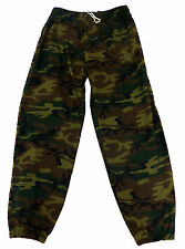 Camo Fleece Pants- Big Sizes - Elastic Bottom USA Made