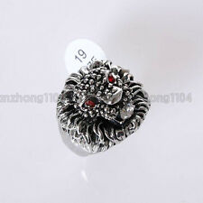 Men's Fashion Ring Lion Ring Free Shipping XL001