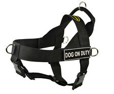 No Pull Dog Harness with Patches DOG ON DUTY