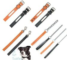 Ancol Heritage Leather Dog Collars, Leads & Chain Leads