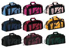 Port & Company Tek Gym Bag Pocket Duffle Workout Training Bag Sport Duffel BG97