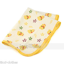 Baby Infant Home Travel Cotton Urine Mat Burp Changing Pad Cover Waterproof New