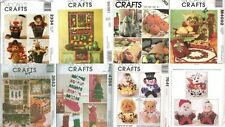 OOP McCalls Christmas Holiday Decoration Sewing Pattern Table Centerpiece XMAS