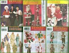 OOP Christmas Holiday Costume Sewing Pattern  Adult Kids Simplicity McCalls XMAS