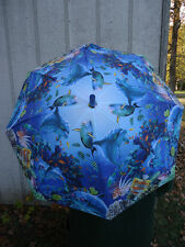 Galleria Childrens Umbrellas Animal Kingdom or Sunlit Sea Kids Stick Umbrella