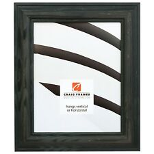 """Picture Frame Weathered Green 1.75"""" Wide Complete New Wood Frame (77332908)"""