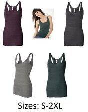 Bella Ladies Triblend Racerback Tank Top, 4 Colors & 5 SIzes S-2XL (8430)