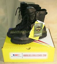 US Military WATERPROOF Black GORETEX ICB COMBAT Hunting BOOTS NIB (Made in USA)