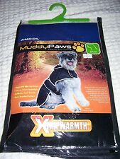 Ancol Muddy Paws xtra Warmth Black Diamond Quilt Dog Coat