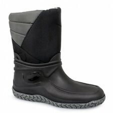 Mens Waterproof Snow Winter Full Fur Thermal Warm Lined Wellington Wellies Boots