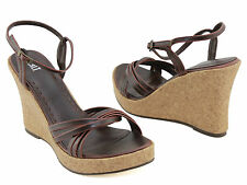 SPOILT CHARM LADIES SHOES / PLATFORMS / WEDGES BROWN AUS SIZES