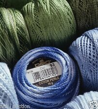 DMC Pearl Cotton Size 5 and 8 - Variegated Colors
