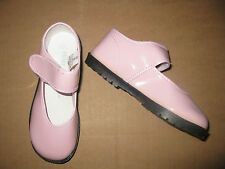 PINK PATENT Easy Fastener MARY JANES SHOES Girls Infant & Toddler 1 to 10 NEW