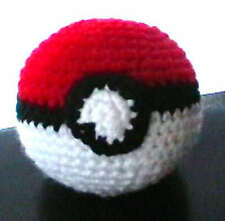 Custom Pokemon Crochet POKEBALL Plushie by Cookiin Plush Doll Plushy Toy NEW
