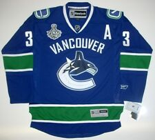 KEVIN BIEKSA VANCOUVER CANUCKS STANLEY CUP JERSEY '11