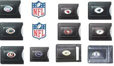 NFL - Leather Money Clip Card Holder Most NFL Teams You Are Buying One