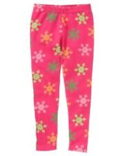 GYMBOREE CHEERY ALL THE WAY MAGENTA SNOWFLAKE PRINT LEGGINGS 5 6 7 8 9 12 NWT