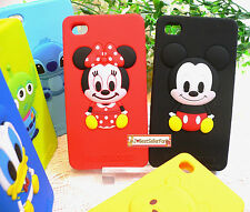Licensed♥3D Japan Disney iPhone 4 4G 4S Soft Silicone Protective Back Case cover