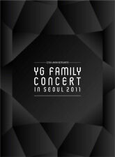 2011 YG Family Concert Live DVD (15th Anniv.) 3DVD + Photobook + Poster +YG Card