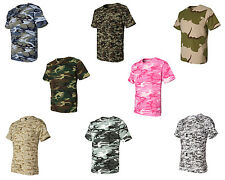 Code V Camouflage Short Sleeve T-Shirt, 8 Camo colors, Sizes S-2XL  (3906)