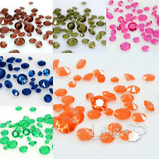 12000 pcs 4-Size Diamond Confetti Wedding Party Table Scatter Decoration COLOURS