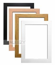 Wooden Effect Poster Picture Frames Stand or Hang Large Various Sizes and Colour
