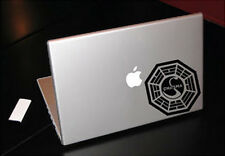 LOST DHARMA INITIATIVE SWAN MACBOOK CAR TABLET VINYL DECAL