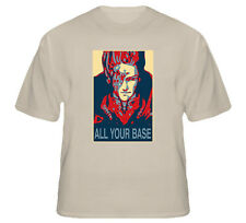 All Your Base Funny Video Game T Shirt