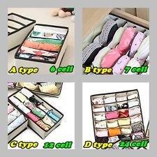 Underwear Closet Divider  Socks & Ties & Bra Organizer Box Storage-0601
