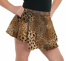 Leopard Print Skirt for Dance, Fashion NEW Child Sizes