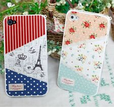 "For Apple iPhone4/4S Lovely COCORONI Hard Plastic Skin Case Cover ""May-Frane"""
