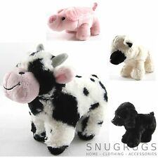 SNUGGLY TOY LAMB TOY COW TOY PIG FARM ANIMALS SUPER SOFT GIFT