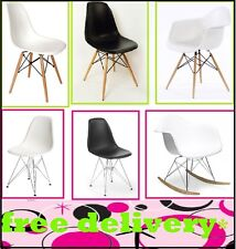 Charles Eames Eiffel Retro Dining Chairs Office Furniture Modern Lounge Armchair
