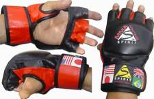Spirit MMA Fighting Grapple Gloves For MMA or Bag Work Martial Arts