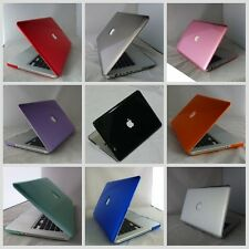 10 colors Crystal Hard Plastic Case Cover For Macbook Pro 15'' Laptop Shell