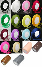 50 Yard Roll Organza Ribbon - 12mm Wide - Choose Colour