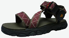 NIKE ACG Air Hydrodynamic Sandals/Shoes Walking/Hiking/Trail Brown/Black Red