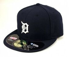 NEW ERA 59FIFTY CAP MLB BASEBALL DETROIT TIGERS HOME NAVY WHITE FITTED 5950 HAT