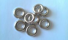 Acrylic Silver Plated CCB Large Ring Spacer Beads16mm (Hole: 8mm) various pack