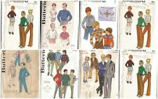 Vintage Butterick Sewing Pattern Boys Clothes  You Pick