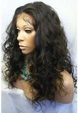 Malaysia Curly 100%  Indian Remy Human Hair Full Lace/Lace Front Wig Ponytails