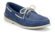 Men's Sperry Authentic Original 2-Eye Salt Stained Boat Shoe, Blue