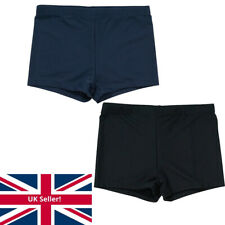 Boys H20 BACK TO SCHOOL Swim Shorts Black, Navy, Sizes 7-8, 9-10, 11-12, 13 yrs