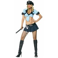 Officer Frisk Me Police Woman Dirty Cop Costume Halloween Fancy Dress