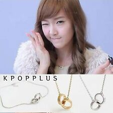GIRLS' GENERATION SNSD JESSICA - Double Ring Necklace [SN13]
